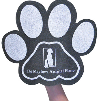 Small Paw Foam Mitt