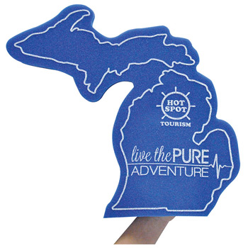 """The Mitt"" Upper & Lower Foam Michigan Mitt"